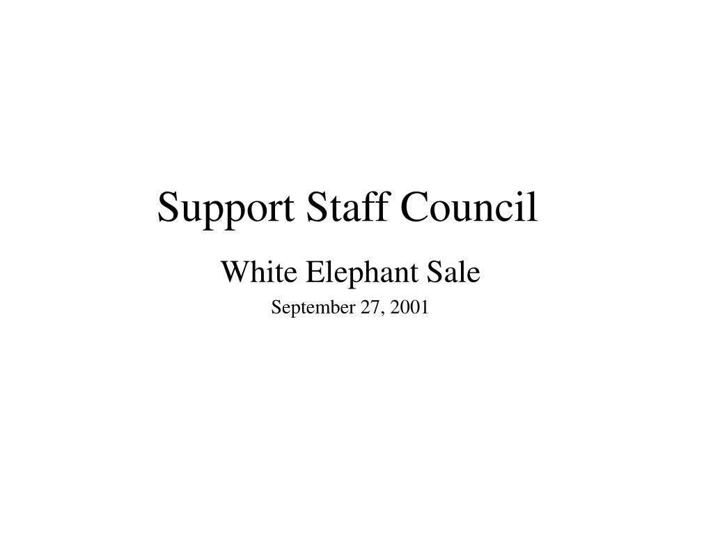 support staff council l.