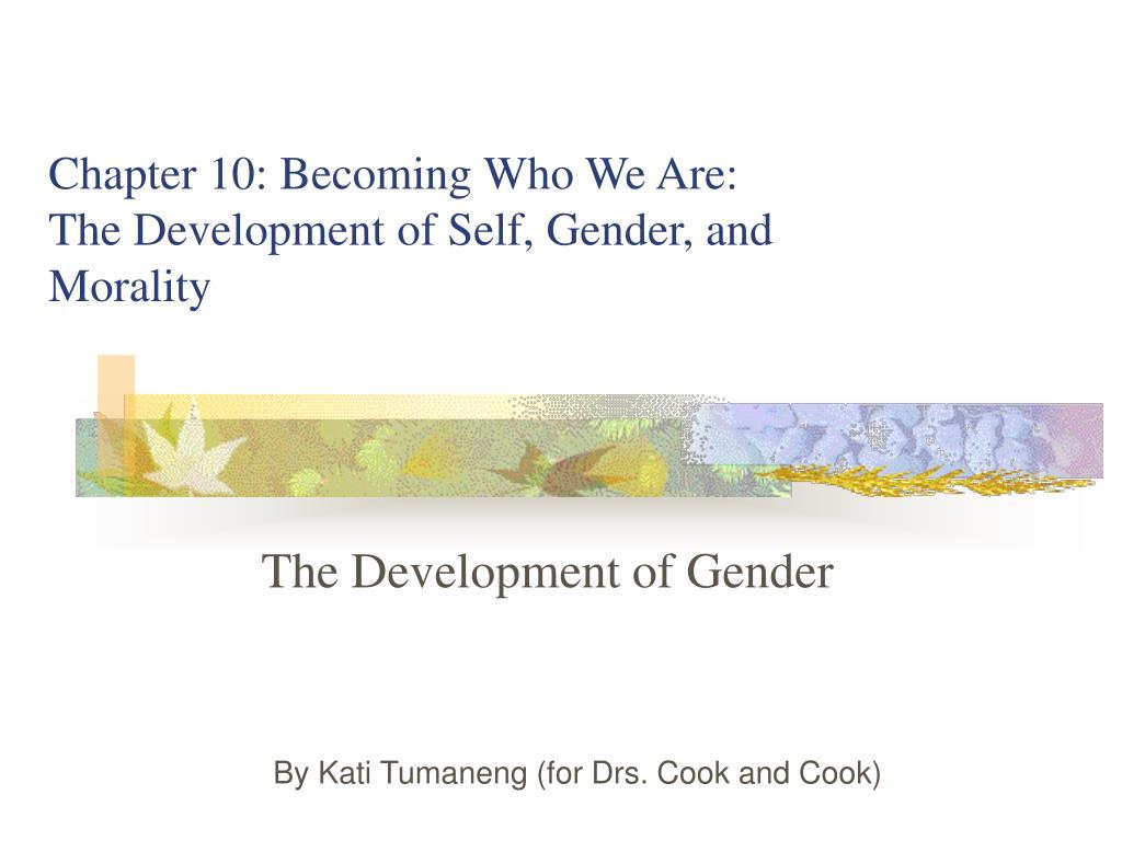 the development of gender l.