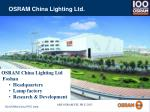 osram china lighting ltd