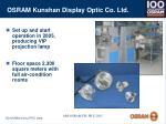 osram kunshan display optic co ltd