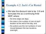 example 4 2 jack s car rental51
