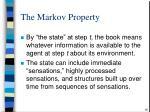 the markov property