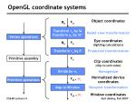 opengl coordinate systems37