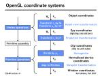 opengl coordinate systems8