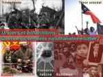 quels mouvements nationalistes tudier