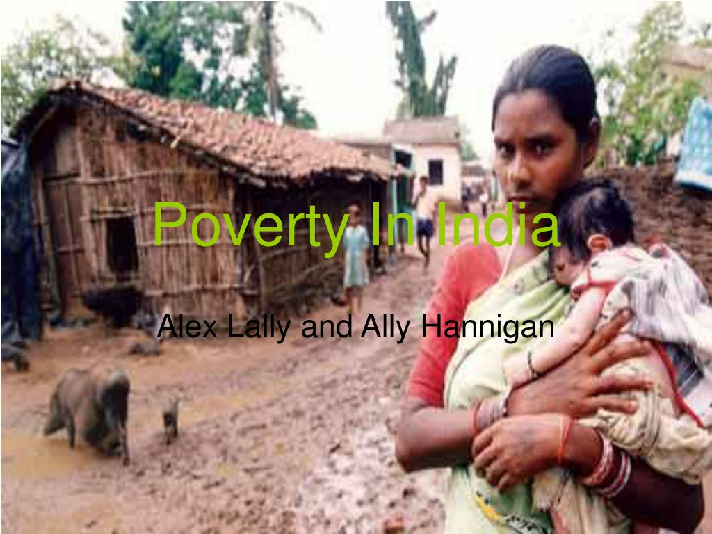poverty in india l.