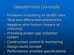geotechnical concepts
