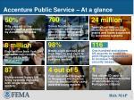 accenture public service at a glance