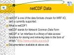 netcdf data1