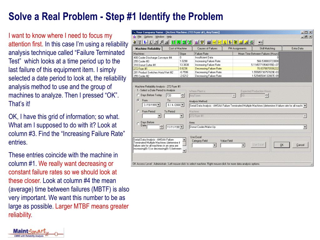 solve a real problem step 1 identify the problem l.