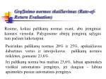 gr inimo normos skai iavimas rate of return evaluation28
