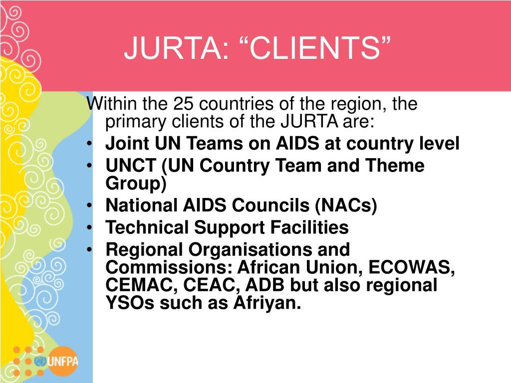 """JURTA: """"CLIENTS"""""""