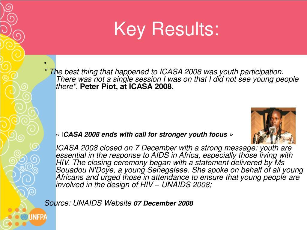 Key Results: