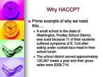 why haccp5