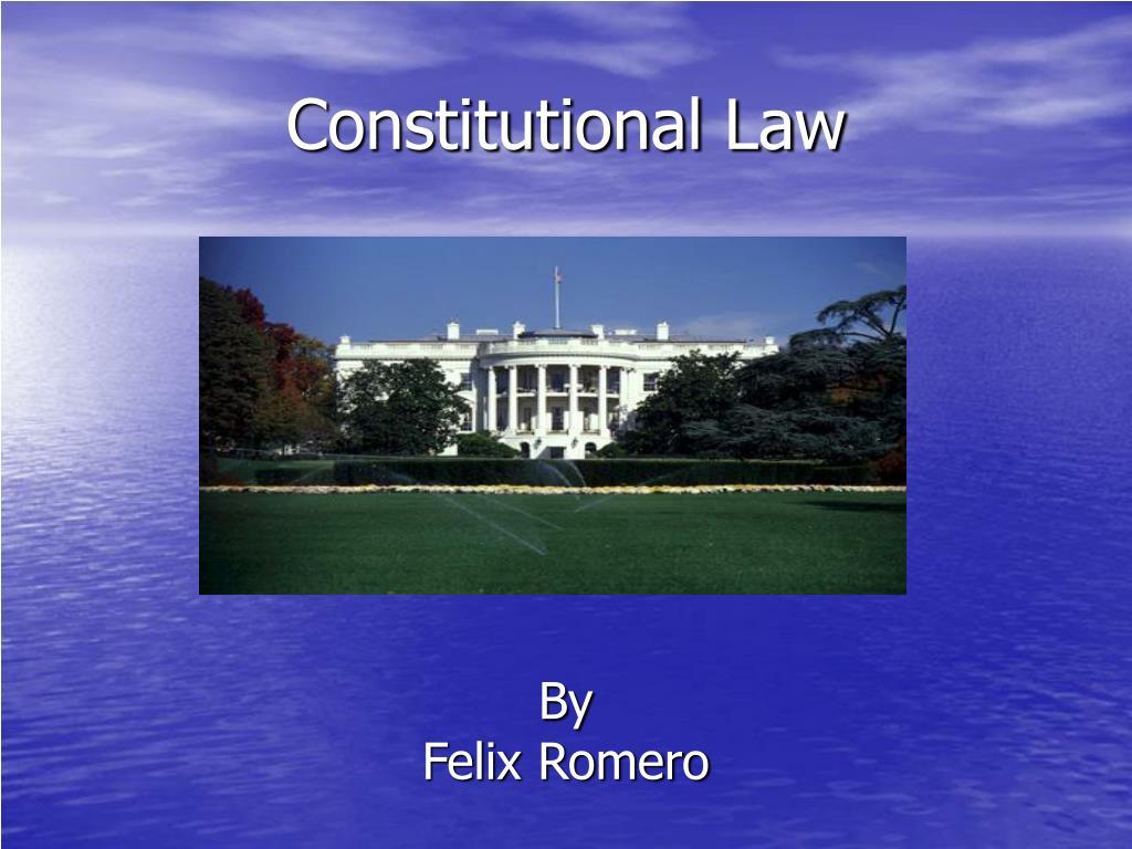 constitutional law l.