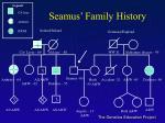 seamus family history