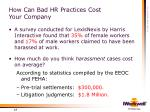 how can bad hr practices cost your company13