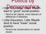 politics by demographics