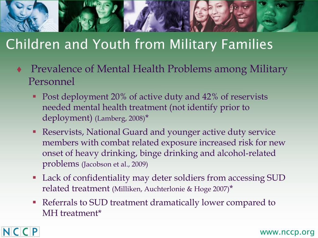Children and Youth from Military Families