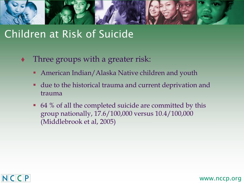 Children at Risk of Suicide