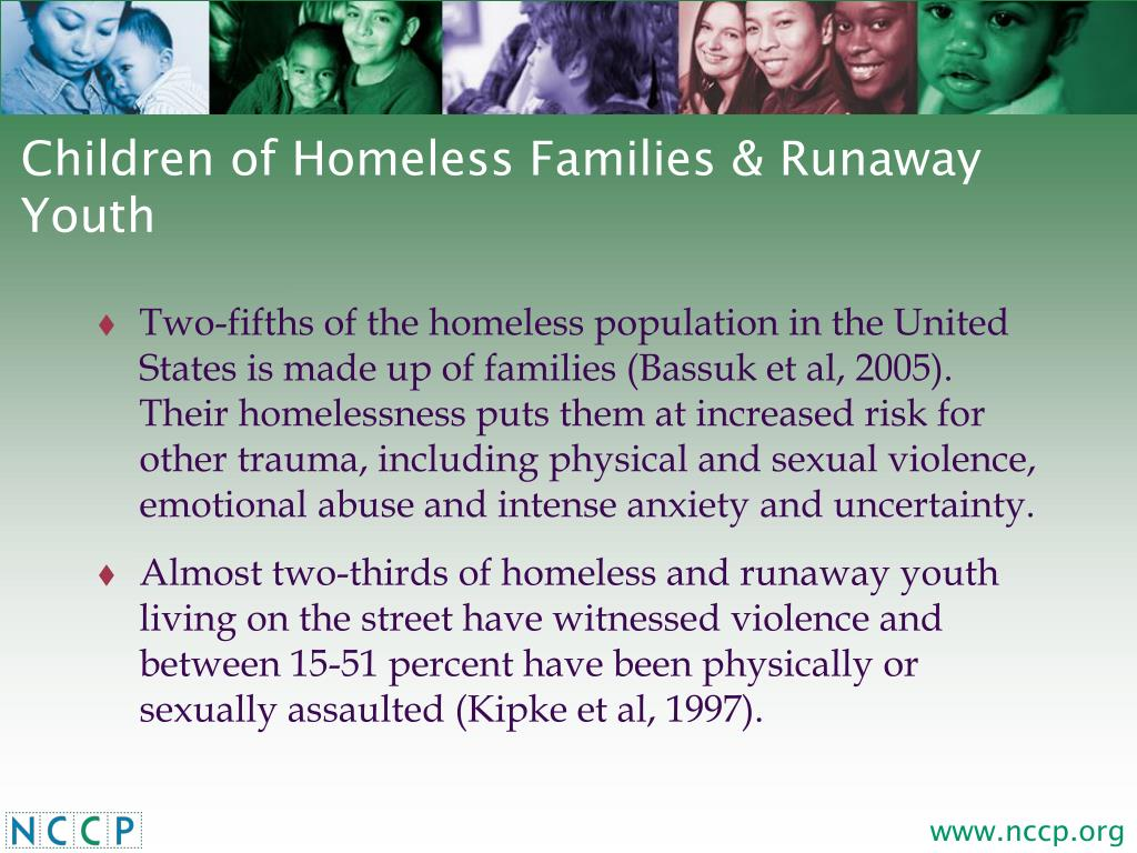 Children of Homeless Families & Runaway Youth