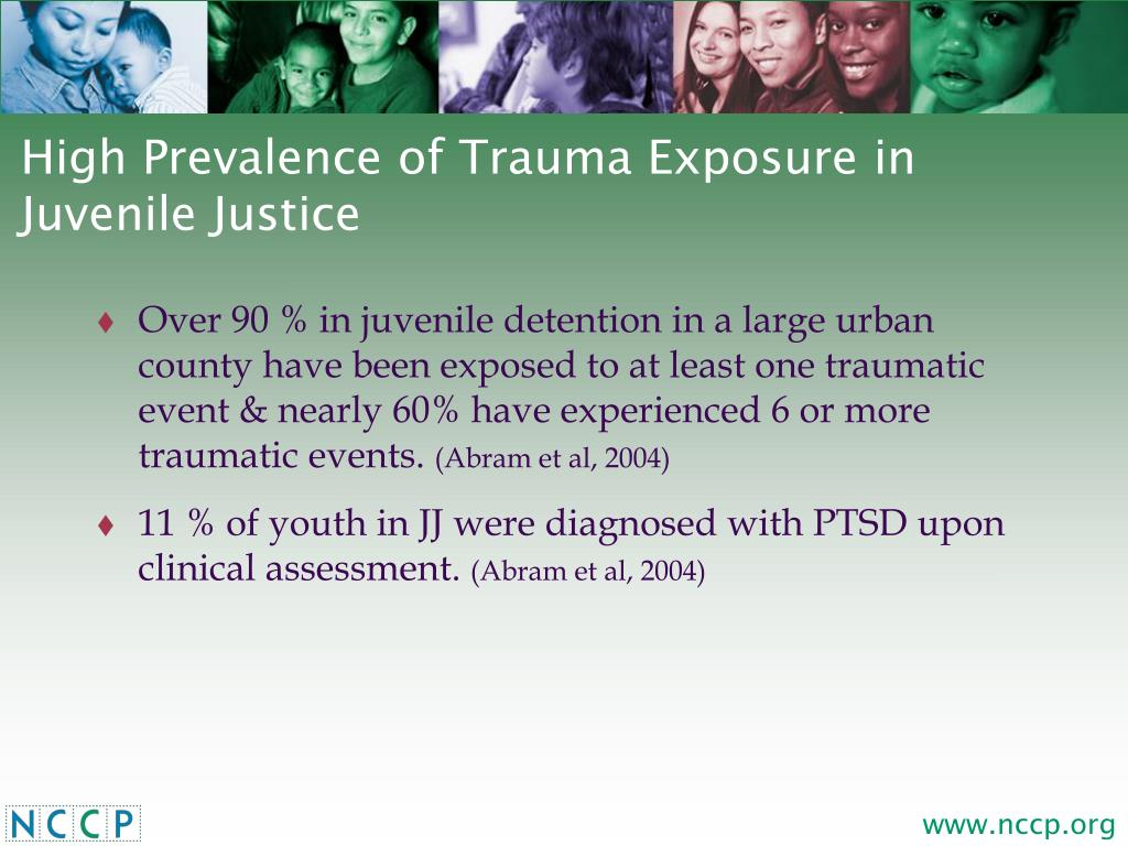 High Prevalence of Trauma Exposure in Juvenile Justice
