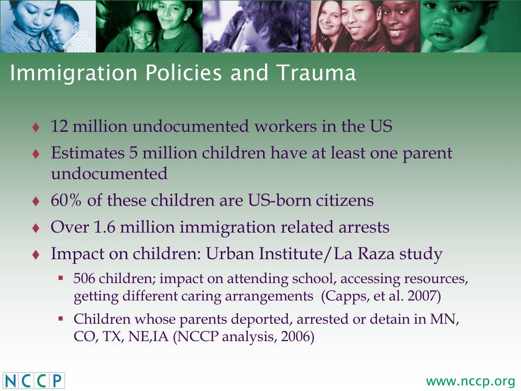Immigration Policies and Trauma