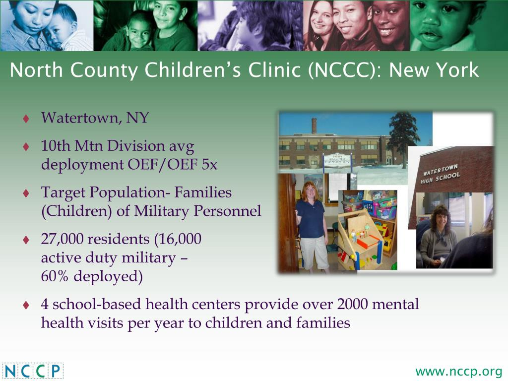 North County Children's Clinic (NCCC): New York
