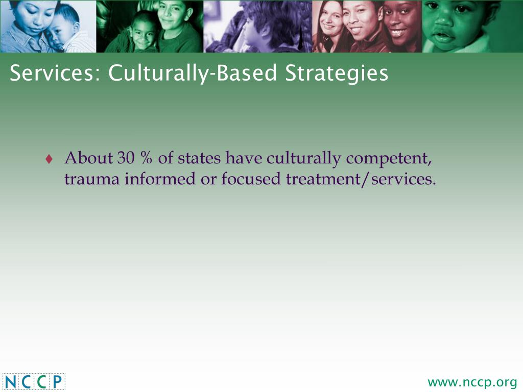 Services: Culturally-Based Strategies