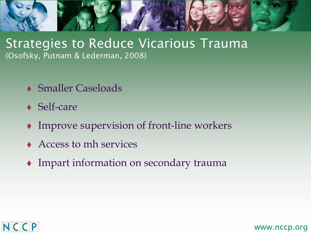 Strategies to Reduce Vicarious Trauma
