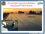 powerlight corporation building integrated pv roof system