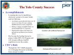 the yolo county success
