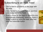 subscribing to an rss feed18