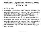 provident capital ltd v printy 2008 nswca 13134