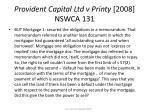 provident capital ltd v printy 2008 nswca 13137