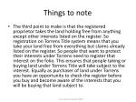 things to note21