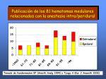 publicaci n de los 81 hematomas medulares relacionados con la anestesia intra peridural