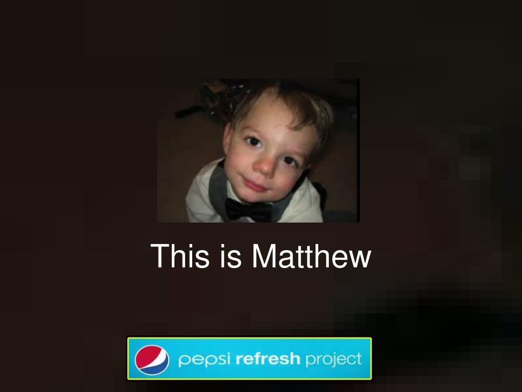 this is matthew l.