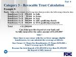 category 3 revocable trust calculation52