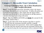 category 3 revocable trust calculation54