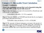 category 3 revocable trust calculation58