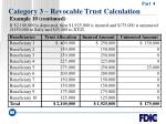 category 3 revocable trust calculation60