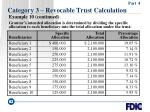 category 3 revocable trust calculation62