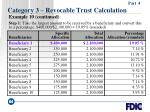 category 3 revocable trust calculation64