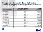 category 3 revocable trust calculation66