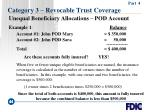 category 3 revocable trust coverage44