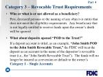 category 3 revocable trust requirements35
