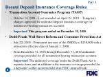recent deposit insurance coverage rules5