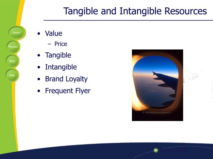 tangible and intangible elements Assets are classed as capital/fixed, current, tangible or intangible and expressed in terms of their cash value on financial statements (see examples of assets types below) tangible assets include money, land, buildings, investments, inventory, cars, trucks, boats, or other valuables intangibles such as goodwill are also considered to be assets.