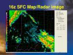 16z sfc map radar image